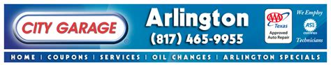 City Garage Coupons by Auto Service Coupons Car Maintenance Specials