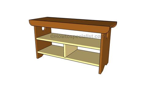 Storage Bench Plans Howtospecialist How To Build Step