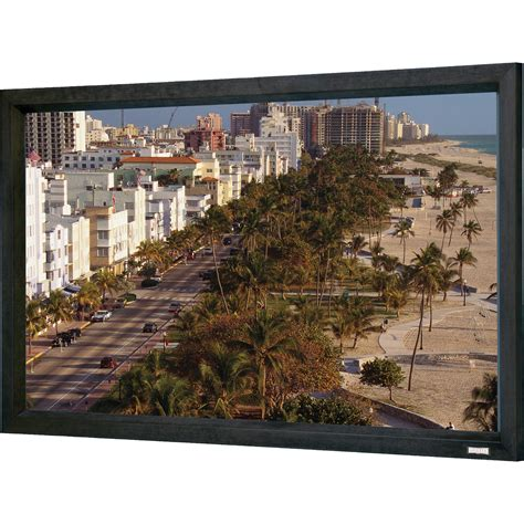 1 Da Lite Cinema Contour High Contrast Da Mat 119 Screen 94310v by Da Lite 70349 120 X 192 Quot Cinema Contour Fixed Frame 70349