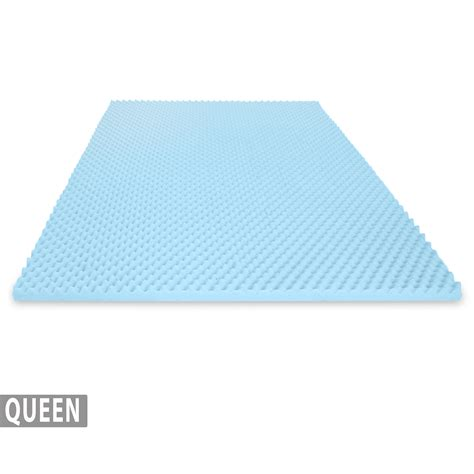 Egg Crate Mattress Topper Reviews by Egg Crate Gel Infused Memory Foam Mattress Topper