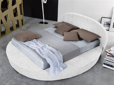 materasso tondo letto rotondo con contenitore