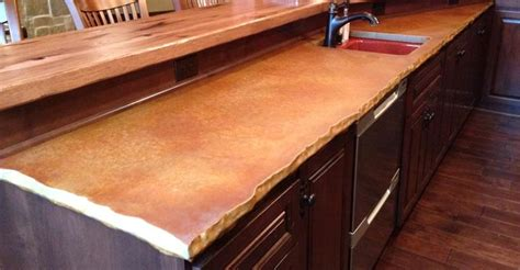 Concrete Countertop Edge by Edge Details For Concrete Countertops The Concrete Network