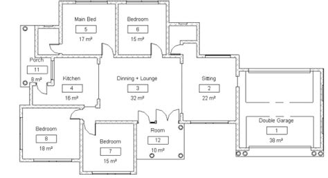 Daycare Floor Plans by House Plans In Limpopo Pplokwane Lebowakgomo