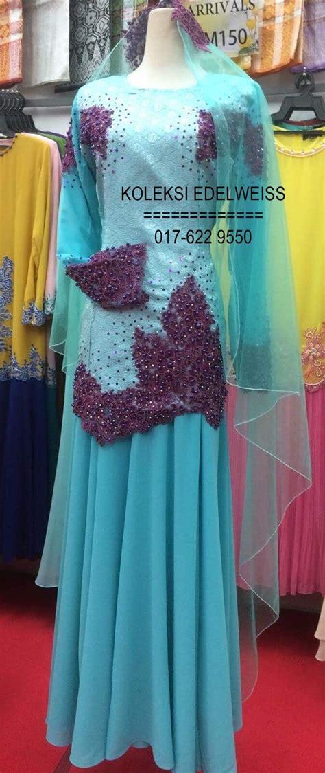 kebaya pengantin koleksi baju nikah zyda collection kebaya biru hitam zyda collection butik pengantin kebaya
