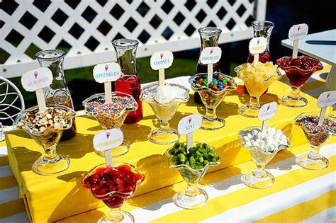 ice cream bar topping ideas ice cream la vita bella events