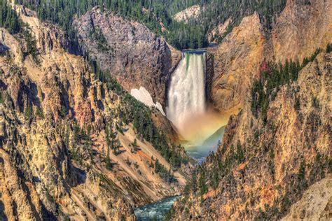 yellowstone lower falls waterfall in yellowstone usa waterfalls to visit travel to usa waterfalls in