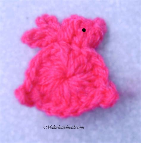 Sweet Bunny Hairclip easter pencil topper crafts ideas crafts for