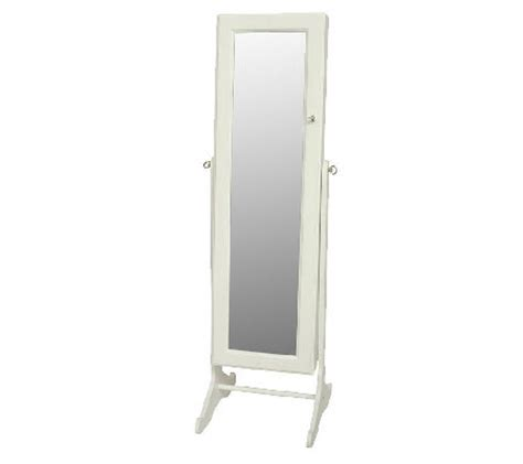 lori greiner jewelry armoire gold silver safekeeper mirrored jewelry cabinet by lori