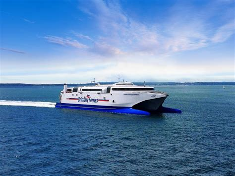 catamaran ferry cherbourg normandie express ship information high speed ferry