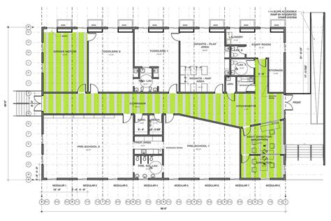 floor plan for child care center harvard yard modular child care center triumph modular