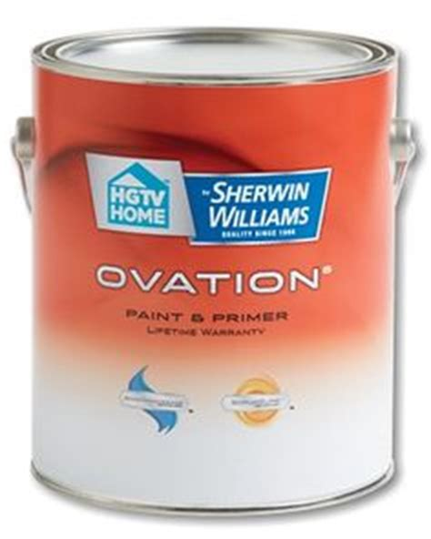 hgtv home by sherwin williams ovation white high gloss interior exterior paint and primer