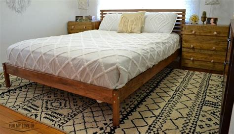 tarva bed ikea hack ikea tarva bed hack mid century style and ikea rast hack