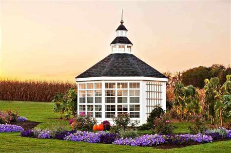 octagon cottage the 12x12 octagon garden shed