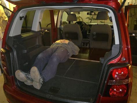 löffelchen schlafen schlafen im touran laderaumverl 228 ngerung edelstahltr 228 ger