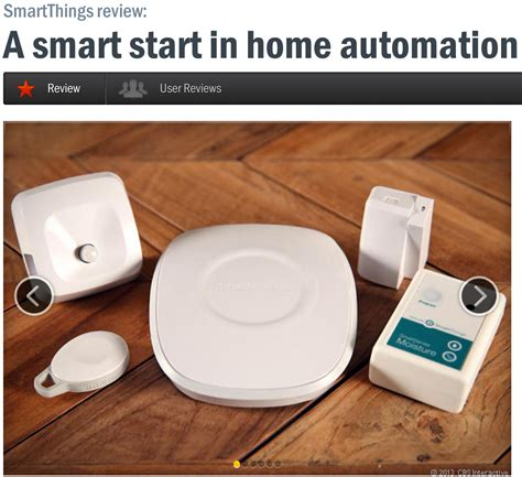 cnet gives smartthings an excellent rating smartthings