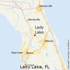 Lady Lake Florida Map by Best Places To Live In Lady Lake Florida