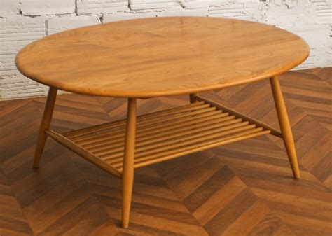 coffee table vintage ercol furniture maker