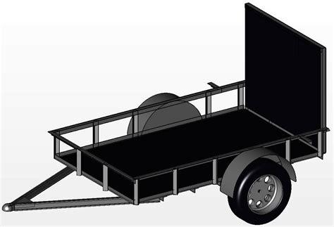 design is one trailer fine utility trailer design templates photos resume