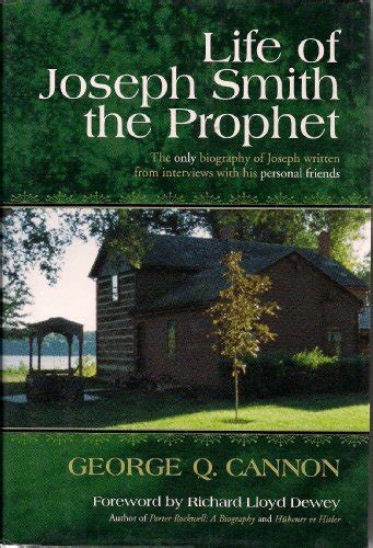 joseph smith the prophet books biography of author george q cannon booking appearances
