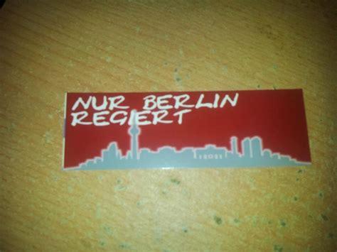 Aufkleber Union Berlin by Aufkleber Aufkleber T Shirts Schals Buttons