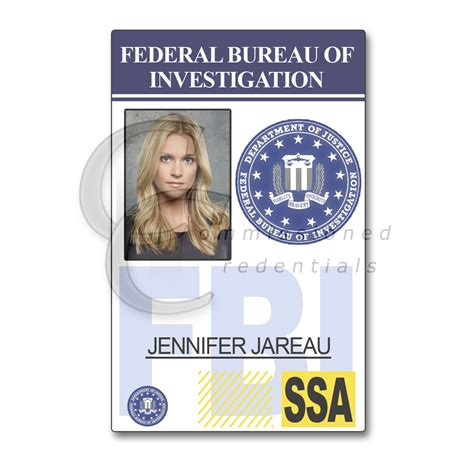 fbi id template fbi id template 28 images 7 best images of id badges