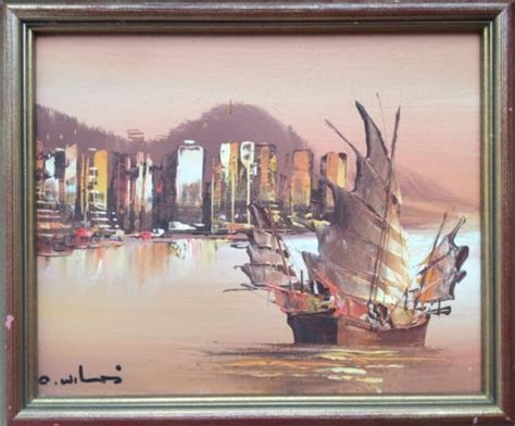 hong kong boats called 16 best chinese junk boat paintings images on pinterest