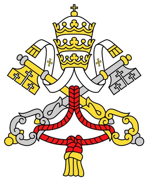 stemma santa sede file emblem of the holy see usual 2012 svg