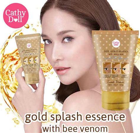 Gold Emas Splash Essence With Bee Venom Best Seller cathy doll sweet gold splash essence with bee venom 50g thailand best selling products