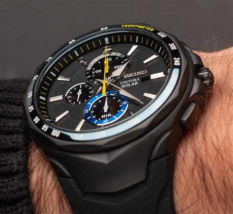seiko coutura solar chronograph jimmie johnson special
