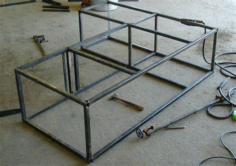 angle iron bed frame angle iron bed frame projects 28 images angle iron