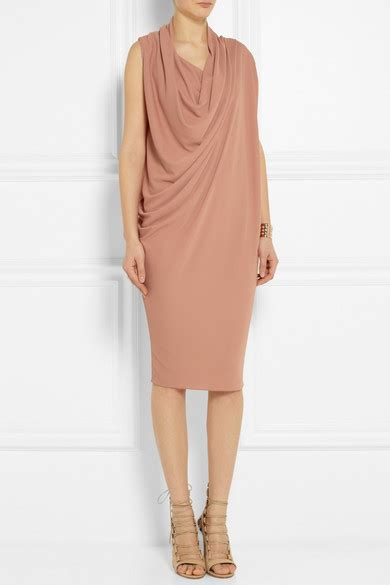 Friday Afternoon Dresses From Net A Porter by Lanvin Draped Crepe Dress Net A Porter