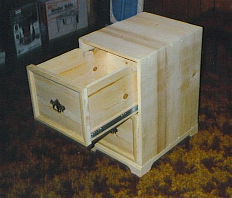 Wooden 2 Drawer Wood File Cabinet Plans Pdf Plans How To Make A File Cabinet Drawer