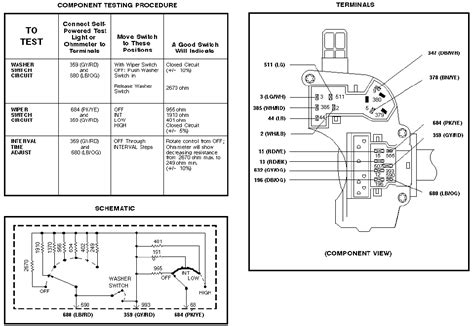 windshield wiper schematic 2003 ford f250 get free image