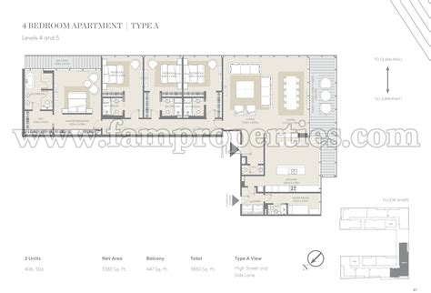 city floor plan floor plans city walk jumeirah by meraas