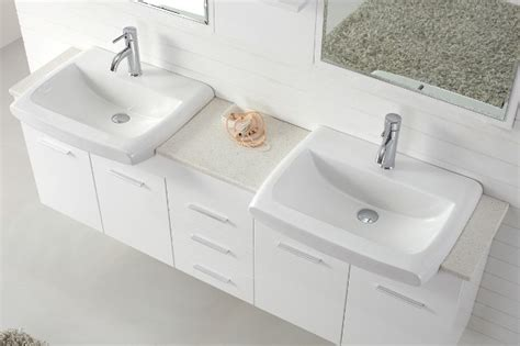 Basins And Vanities by Roma 1800 Basin White Vanity