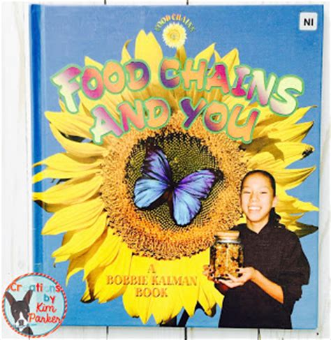 books to teach food chains curriculum and crayons