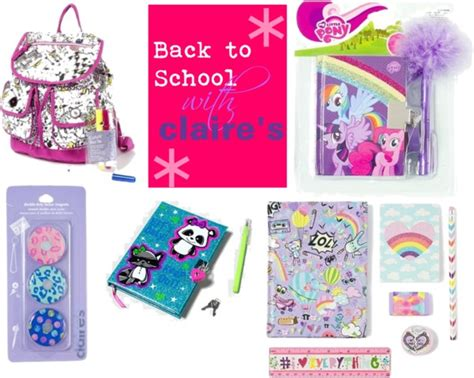 My Items From Claires 2 by Back To School Starts Pretty With S School Starts