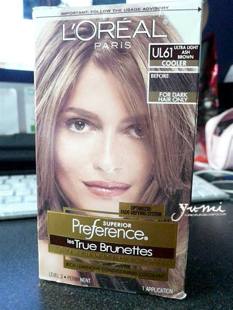 how do you dye ash brown from dyed red yumiko s blog loreal les true brunettes ul61 ultra light