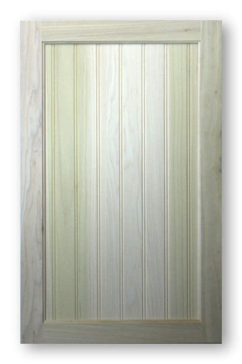Poplar Cabinet Doors Beadboard Cabinet Door Poplar Frame Poplar Panel 2 Quot Bead Spacing Acmecabinetdoors