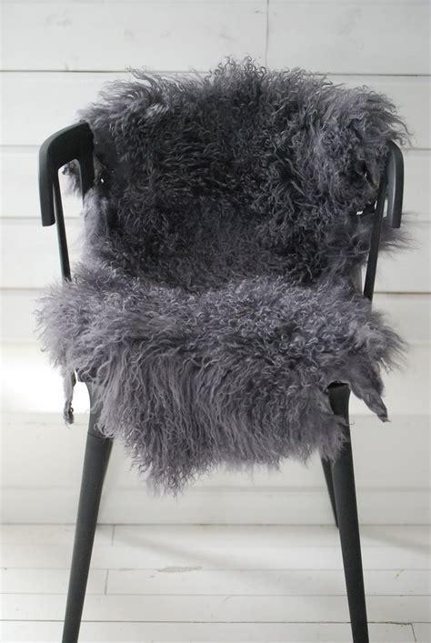 Faux Fur Chair Throw by Dove Gray Home Decor Grey Fur Throw Grey