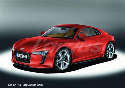 Audi R4 by Future Audi R4 Une Famille De Roadster En Devenir Photo