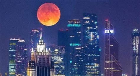 cuando es la luna de sangre el primer eclipse lunar