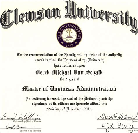 Mba Administration Degree by Mba Real Estate Derek Schaik