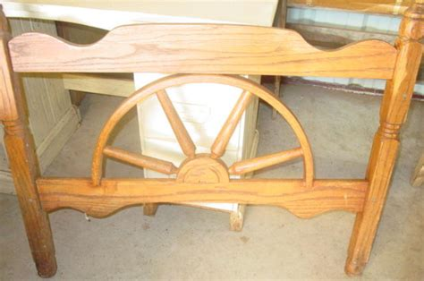 western 50 s wagon wheel headboard 2 available sold