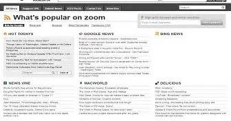 zoom feed aggregator blogger template best blogger