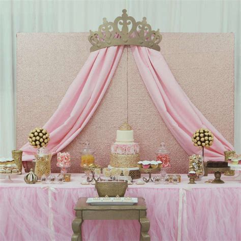New Princess Baby Shower Theme by Princess Glam Baby Shower Ideas Photo 1 Of 10