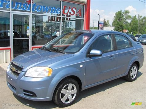 2007 blue chevrolet aveo ls sedan 53117698 gtcarlot car color galleries