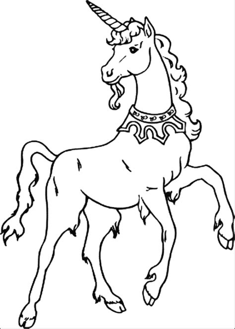 preschool unicorn coloring pages print download unicorn coloring pages for children
