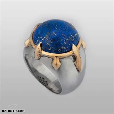 Cardinal Ring (Lapis)   Rings by Oz Abstract Tokyo   Online Boutique Oz Abstract Tokyo, Japan