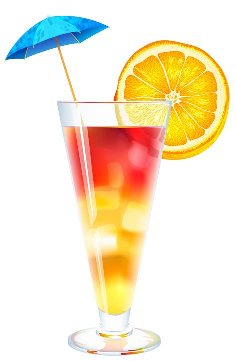 mixed drink clipart summer cocktail png clipart image clip art drinks ice